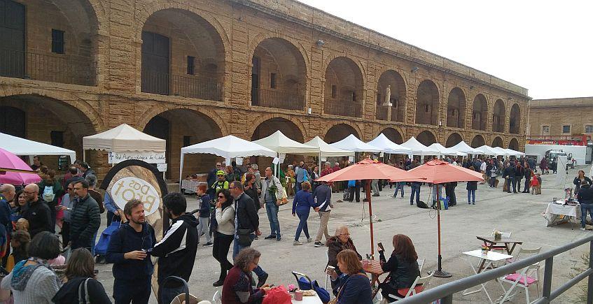 Ecomercado en Cádiz el 11 de enero