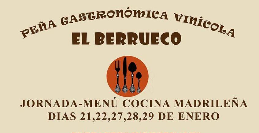 Del 21 al 29 de enero. Medina Sidonia. Cocina madrileña
