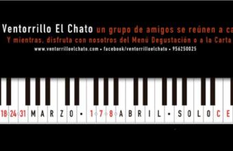 10 de marzo al 8 de abril. Cádiz. Música en El Chato