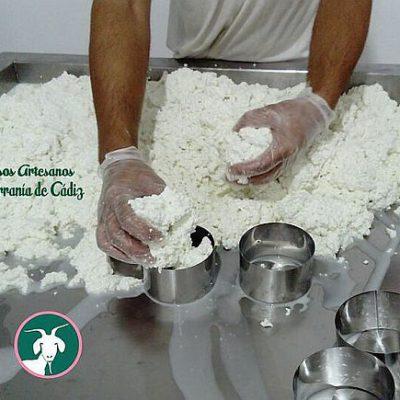 La elaboración del queso.