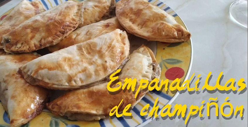 Empanadillas de champiñón