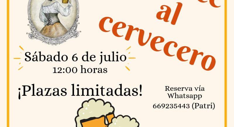 Visita guiada a la fábrica de cerveza La Piñonera de Puerto Real el 6 de julio