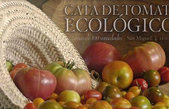 22 de agosto. Cádiz. Cata de tomates ecológicos en La Huerta Ecotienda