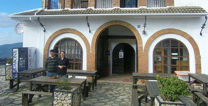 Menú maridado con vinos de González Byass en el Restaurante Refugio Angélica de Benaocaz el 31 de mayo