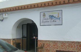El taco de atún del Club de Pesca deportivo El Atún