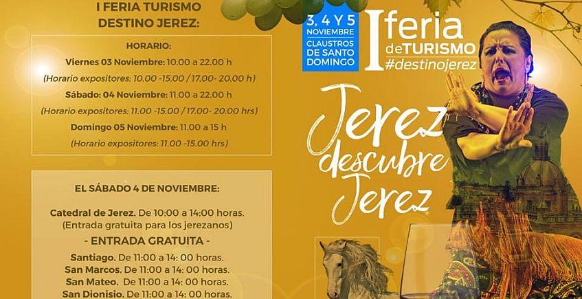 3 a 5 de noviembre. Jerez. I Feria del Turismo