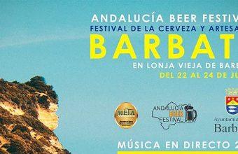 22, 23 y 24 de junio. Barbate. Festival de la Cerveza y Artesanía