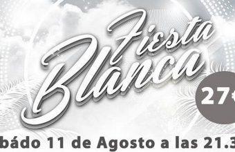 11 de agosto. Medina Sidonia. Fiesta Blanca en El Berrueco Gastro