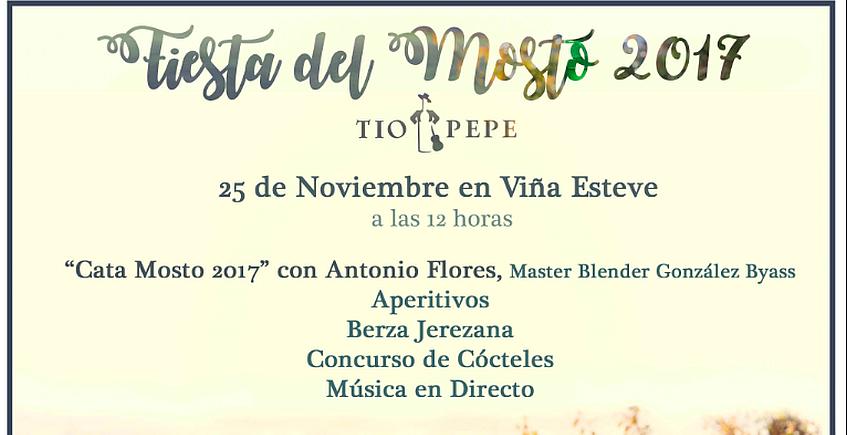 25 de noviembre. Jerez. Fiesta del Mosto de Tío Pepe