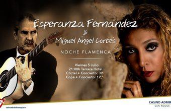 Noche flamenca en Casino Admiral