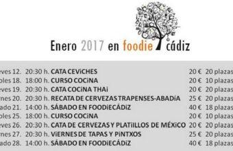 3 al 30 de mayo. Cádiz. Cursos en Foodie