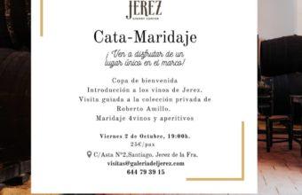 Cata maridaje en la Galería del Jerez