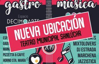 23 de marzo. Sanlúcar. Festival Gastromúsica Sanlúcar