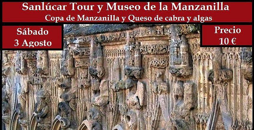 Tour histórico por Sanlúcar con visita al Museo de la Manzanilla