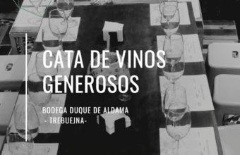 Cata de vinos generosos de Ca`Moña