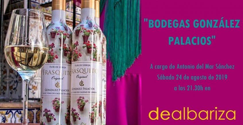 Cata maridada de la Bodega González Palacios en Dealbariza