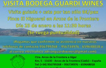 Visita a la Bodega Guardi Wines
