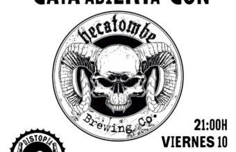 Cata de Cervezas Hecatombe en Distopía Café de Cádiz