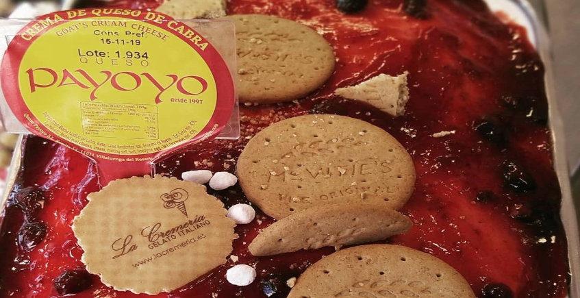 El helado de queso Payoyo de La Cremería