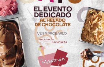 Evento dedicado al chocolate en la heladería Mastrén de Vejer