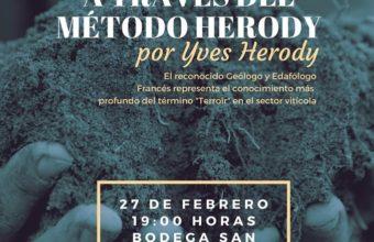 """Conferencia de Yves Herody sobre el """"terroir"""""""