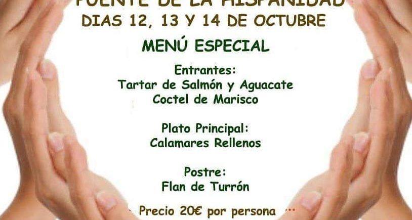 12, 13 y 14 de octubre. Medina Sidonia. Menú especial del Puente de la Hispanidad en El Berrueco Gastro