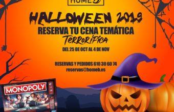 Cenas terroríficas del 25 de octubre al 4 de noviembre en Home B de Chiclana