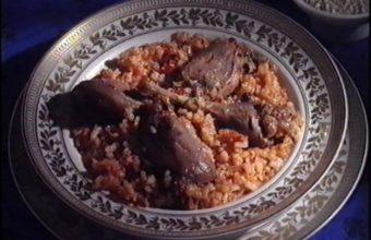 Muslos de faisan con arroz de El Convento de Arcos