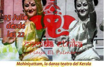 Danza teatro del kerala y menú hindú en Masala de Vejer