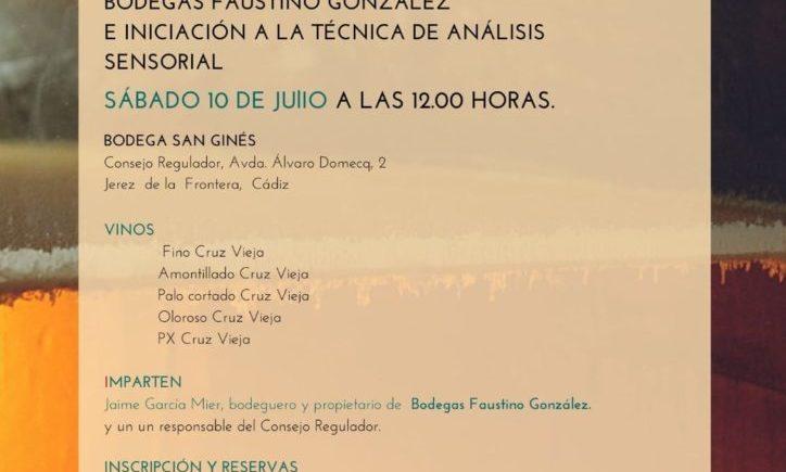 Sesión de iniciación a los vinos de Jerez