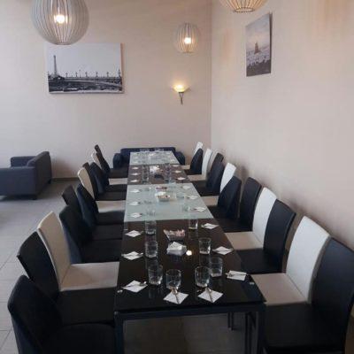 El interior del Café Jerez.