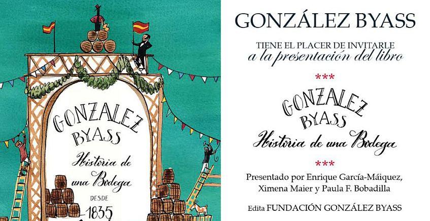 27 de junio. Jerez. Presentación del libro 'González Byass. Historia de una bodega'