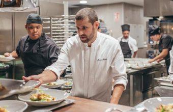 Menú degustación del chef Javier Rebollo en La Reserva