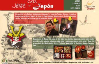 Cata Jerez-Japón el 31 de enero en El Puerto