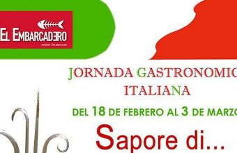 Del 18 de febrero al 3 de marzo. Rota. Jornada gastronómica italiana en El Embarcadero