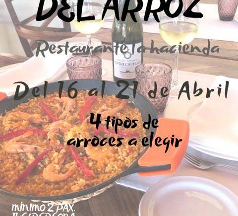 Del 16 al 21 de abril. Vejer. Jornadas del arroz en La Hacienda
