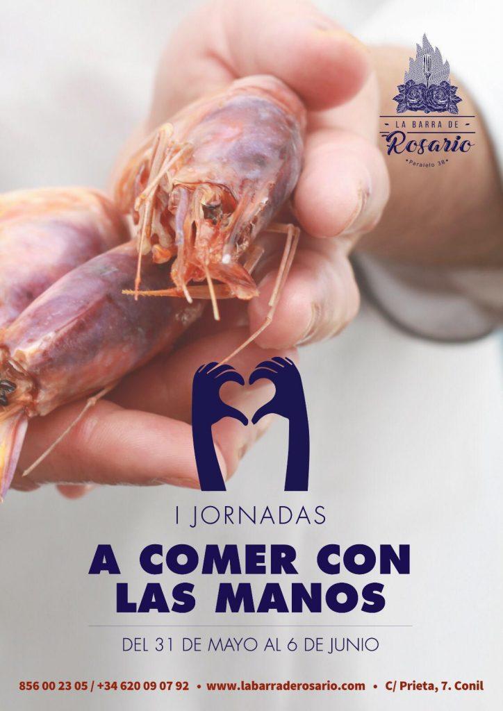 jornadas de comer con las manos