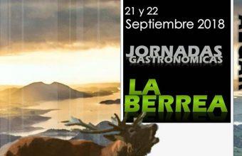 21 y 22 de septiembre. Algar. Jornadas gastronómicas La Berrea.