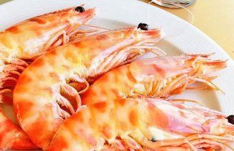 Los langostinos de La Cantina Marinera