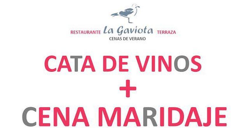 12 de julio. Rota. Cata de vinos y cena maridaje en La Gaviota