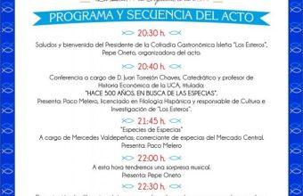 Las especias y la vuelta al mundo, en un acto conmemorativo en San Fernando