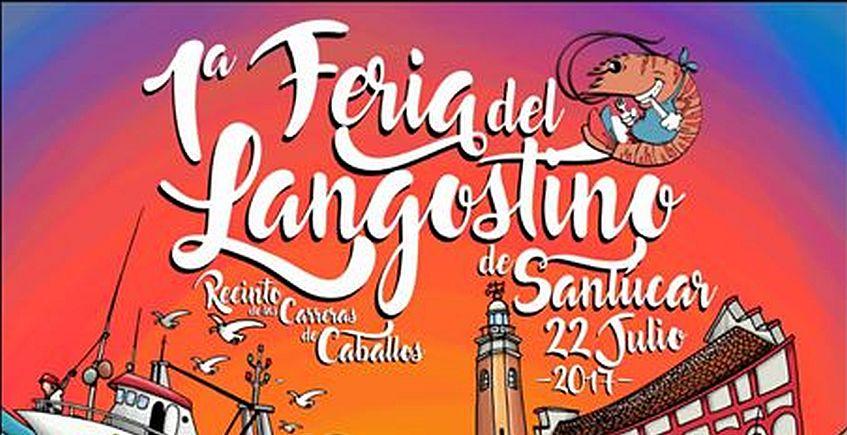 22 de julio. Sanlúcar. Primera feria del langostino