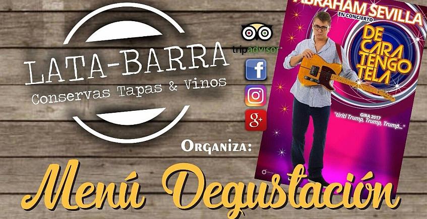 2 de junio. San Fernando. Menú Degustación de la nueva carta de Lata-Barra