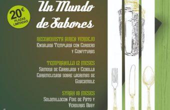 Cena con Maridaje en El Laurel de Ubrique el 15 de noviembre