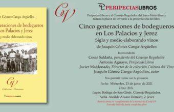 Presentación del libro Cinco generaciones de bodegueros en Los Palacios y Jerez