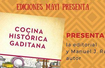 27 de abril. San Fernando. Presentación del libro Cocina Histórica Gaditana