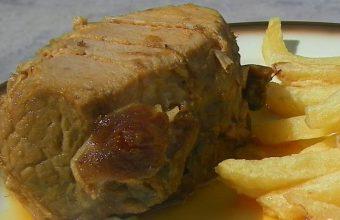 Lomo en manteca del restaurante de La Barca de Vejer