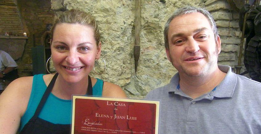 La Casa de Elena y Juan Luis de Tarifa, en la Asociación de Restaurantes de Buena Mesa