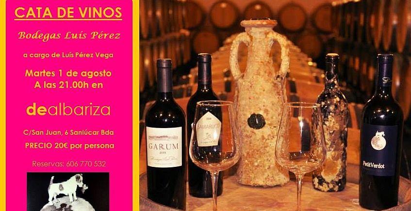 1 de agosto. Sanlúcar. Cata de vinos de las bodegas Luis Pérez