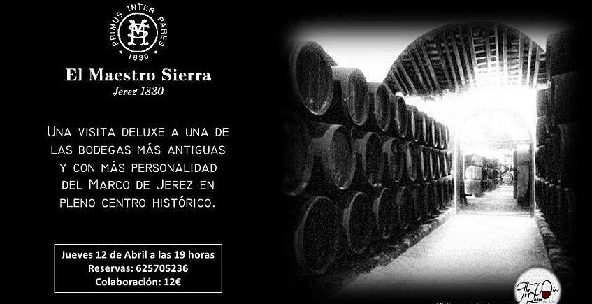 12 de abril. Jerez. Visita a las bodegas Maestro Sierra